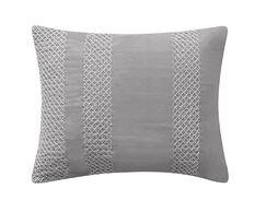 Kory Cotton Lumbar Pillow Color: Gray