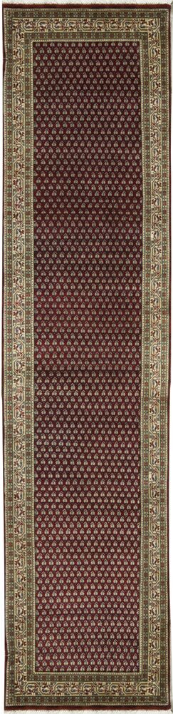 One-of-a-Kind Hand-Knotted Wool Brown Area Rug