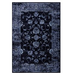 Carrier Traditional Navy Area Rug Rug Size: Rectangle 7'10