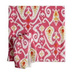Connolly Ikat Cotton Pillow Cover