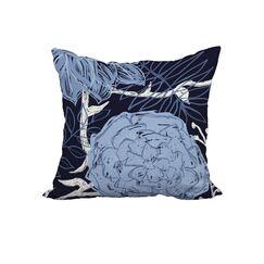 Maranto Print Throw Pillow Size: 18