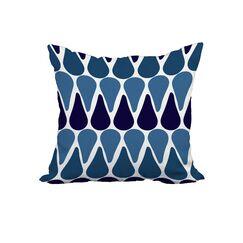 Jasmyn Print Throw Pillow Size: 20