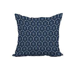 Marlatt Print Throw Pillow Size: 20