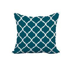 Maxon Print Throw Pillow Size: 18