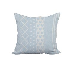 Fulton Print Throw Pillow Size: 20