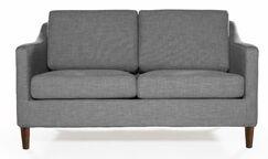 Felipe Standard Loveseat Upholstery: Heather Gray