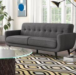 Higbee Modular Sofa Upholstery: Charcoal