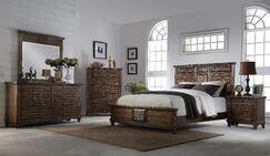 Rodriguez Storage Panel Bed Size: King