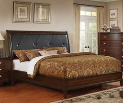 Israel Upholstered Panel Bed Size: California King