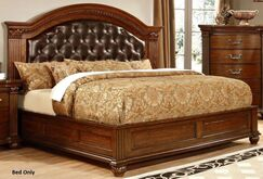 Underwood Leatherette Headboard Upholstered Pannel Bed Size: Queen Size