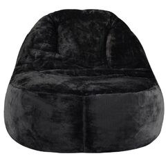 Bean Bag Chair Upholstery: Dark Gray