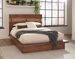 Schmitt Platform Bed Size: King, Storage Included: Yes