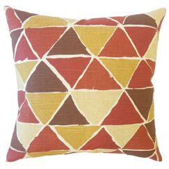 Dodge Geometric Cotton Pillow Size: 20