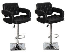 Ivanka Adjustable Height Swivel Bar Stool Color: Black