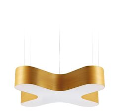 X-Club LED Novelty Pendant Shade Color: Yellow