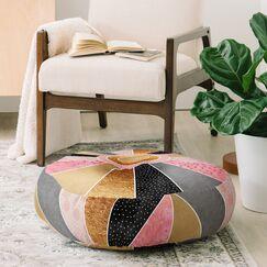 Elisabeth Fredriksson Happy Sunshine Floor Pillow
