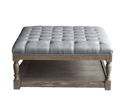 Sophia Square Coffee Table Table Top Color: Frost Gray