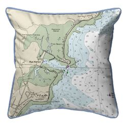 Rye Harbor NH Corded Indoor/Outdoor Throw Pillow Size: 12