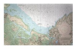 Essex Bay and Essex River MA Doormat Mat Size: Rectangle 1'6