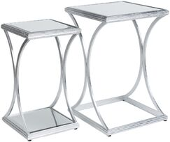 Ashanti ly-Inspired 2 Piece Nesting Tables