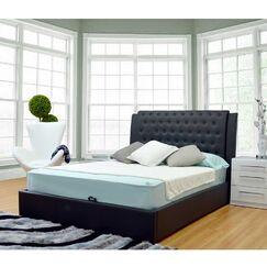 Burford Upholstered Storage Platform Bed Size: King, Color: Black