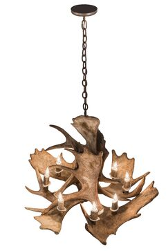 Scruggs Moose 10-Light Novelty Chandelier