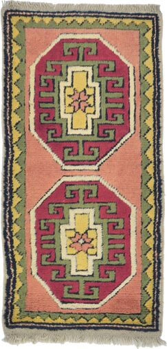 One-of-a-Kind Glenaire Hand-Knotted Runner 1'8