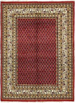 One-of-a-Kind Ilford Hand-Knotted Wool Red/Green/Beige Area Rug