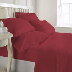 Egremt 600 Thread Count 100% Cotton Sheet Set Size: King, Color: Wine