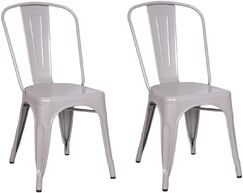 Suki Dining Chair Color: Silver