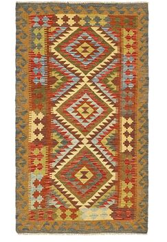 One-of-a-Kind Doorfield Hand-Knotted Wool 3'5