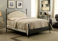 Zed Upholstered Four Poster Bed Size: California King