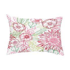 Marez 4 Color Indoor/Outdoor Lumbar Pillow Color: Red