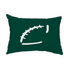 Hythe Indoor/Outdoor Lumbar Pillow Color: Green