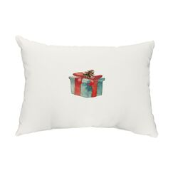 Bollinger Wrapped Indoor/Outdoor Lumbar Pillow Color: Off-White