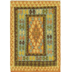 One-of-a-Kind Lorain Hand-Knotted 3'3