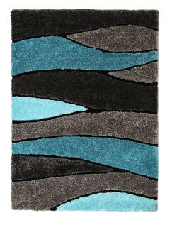 Dawlish Blue/Gray Indoor/Outdoor Area Rug