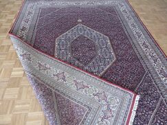One-of-a-Kind Kase Fine Persian Bijar Hand-Knotted 8'2