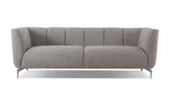 Kaiya Standard Sofa Upholstery: Silver Gray