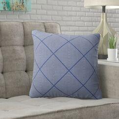 Aldrich Stitch Tribal Diamond Accent Pillow Size: 18