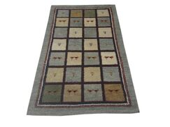 One-of-a-Kind Foristell Gabbeh Hand-Knotted 3' x 5'3