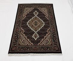 One-of-a-Kind Alannah Fish Tabriz Hand-Knotted 2'8