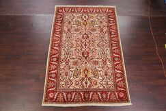 One-of-a-Kind Kerman Floral Traditional Persian Hand-Knotted 6'1