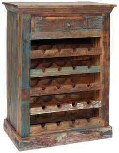 Desirae Bar with Wine Storage