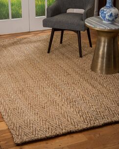 Morecambe Hand-Loomed Brown Area Rug Rug Size: Rectangle 6' x 9'