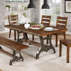 Justa 6 Piece Breakfast Nook Dining Set
