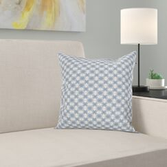 Modern Complex Circular Shapes Square Pillow Cover Size: 16