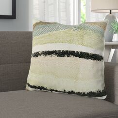 Deshields Stone River Sand Luxury Pillow Size: 20