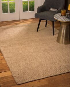 Flounder Hand-Loomed Brown Area Rug Rug Size: Rectangle 8' x 10'