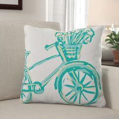 Marchan Print Throw Pillow Size: 22